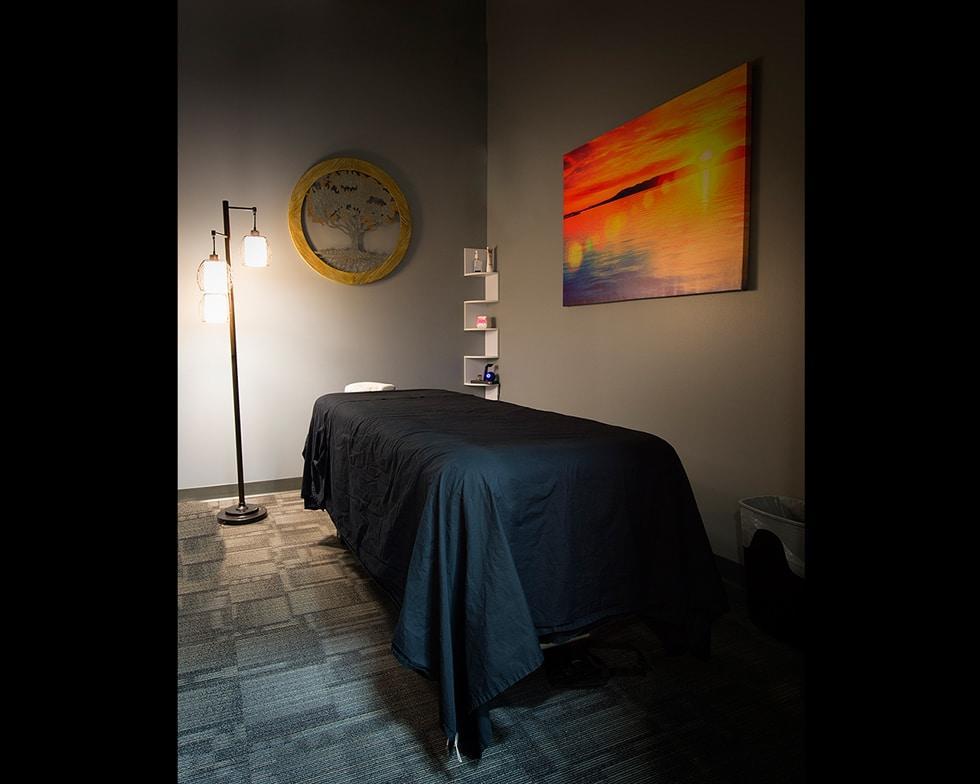 ecw massage room Chiropractor Denver